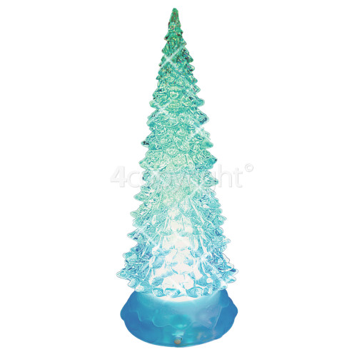 The Christmas Workshop LED Colour Changing Water & Glitter Tree