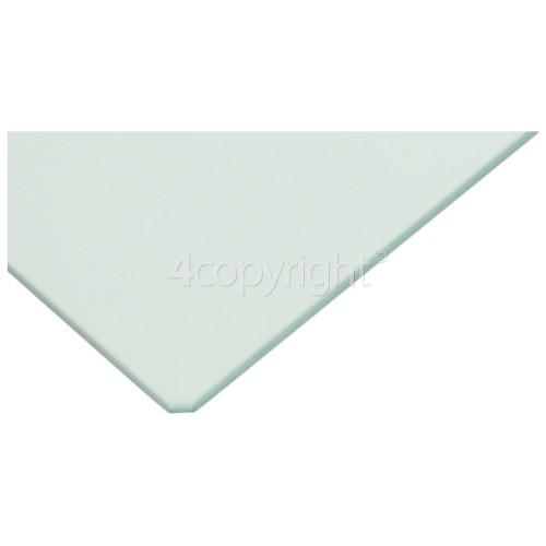 DeDietrich Fridge Glass Crisper Shelf : 476x195mm