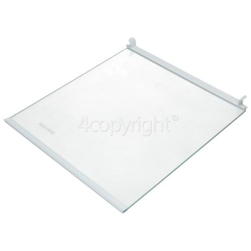 Genuine Grundig Fridge /& Freezer Freezer Compartment Glass Shelf