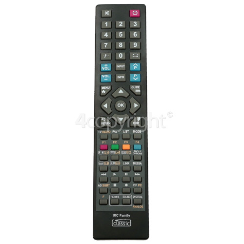 Sony Compatible All Function TV Remote Control