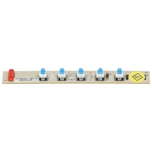 Indesit Push Button PCB