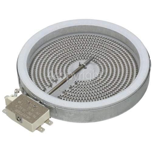 Teka Ceramic Hotplate Element 1200W 165mm Dia. EGO 10.54111.004