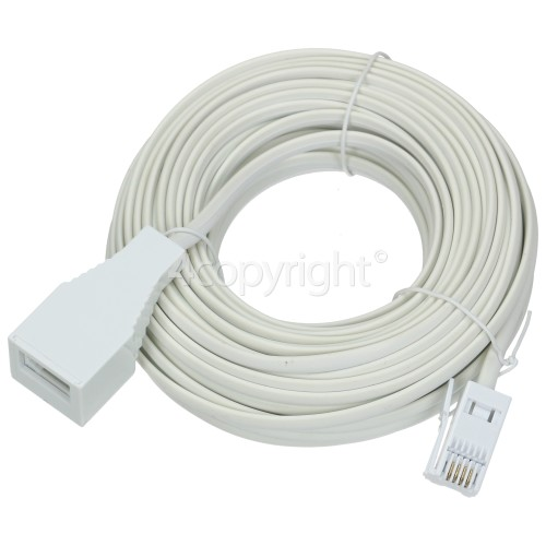 Wellco 15M Telephone Extension Lead