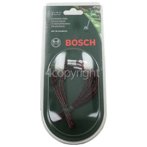 Bosch Extra Strong Trimmer Line (Pack Of 10)