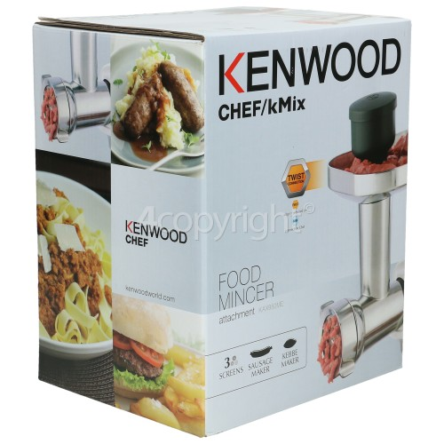 Kenwood KAX950ME Meat Grinder Attachment (For New Twist Connection Kitchen Machines)