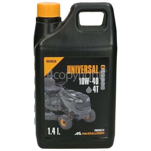 McCulloch M13592RB OLO026 4 Stroke Oil - 1.4 Litre