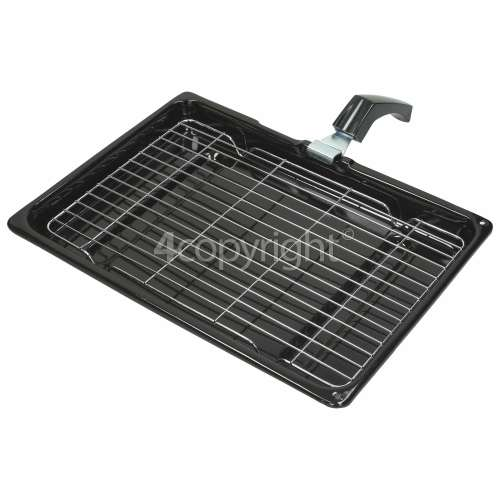 Indesit Universal Grill Pan Complete - 380 X 280 X 40mm