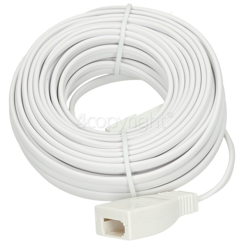 10M Telephone Extension Lead