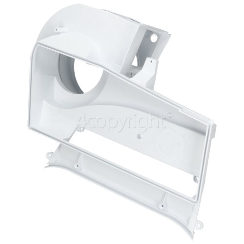 White Knight Air Duct And Fan Cover Assy