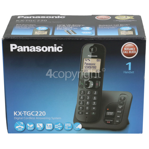 Panasonic Dect Digital Cordless Telephone - Single