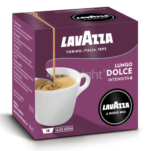 Lavazza Lungo Dolce Capsules (Box Of 16 Capsules)
