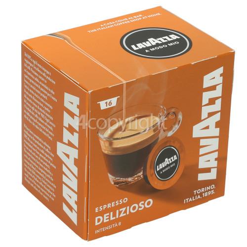 Lavazza Delizioso Espresso Capsules (Box Of 16 Capsules)