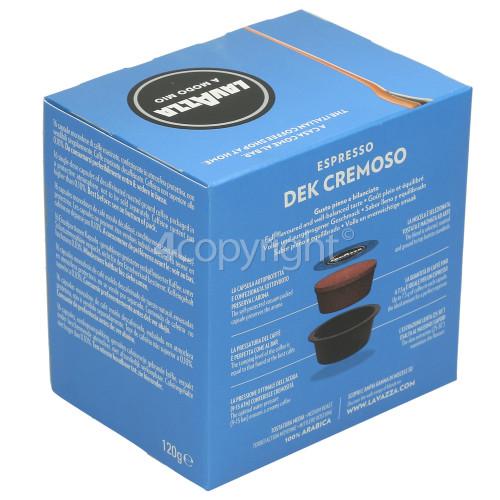 Lavazza Dek Cremoso Capsules (Box Of 16 Capsules)
