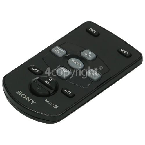 Sony RM-X115 Audio System Remote Control