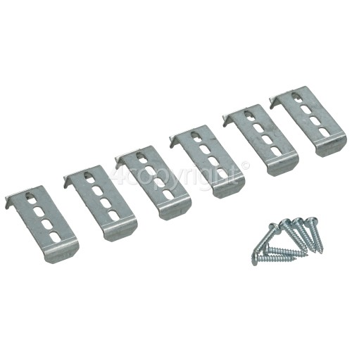 Neff 4 Piece Hob Bottom Case Fixing Kit