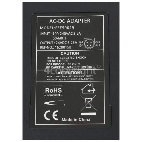 JVC LCD TV AC Adapter (2 Pin Euro Plug)