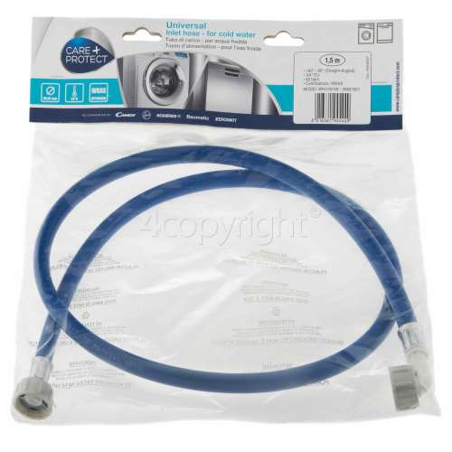 Hoover Universal Cold Water Inlet Hose (Blue) - 1.5m
