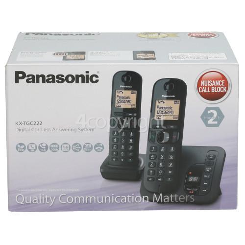 Panasonic Dect Digital Cordless Telephone - Twin
