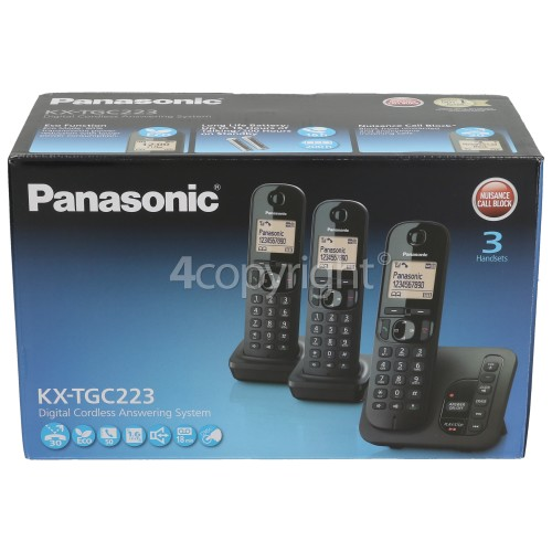 Panasonic Dect Digital Cordless Telephone - Triple