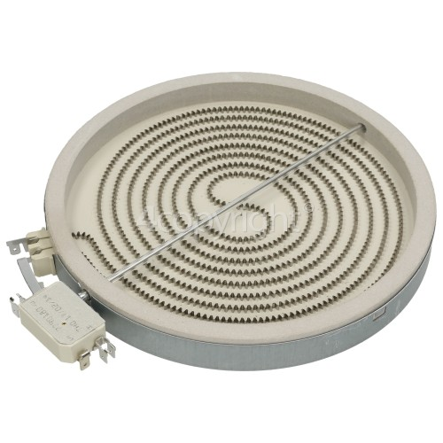 Neff Large Ceramic Hob Hotplate Element : Eika 2302032844 9000411934-570 2200W / Outer Diameter: 230mm