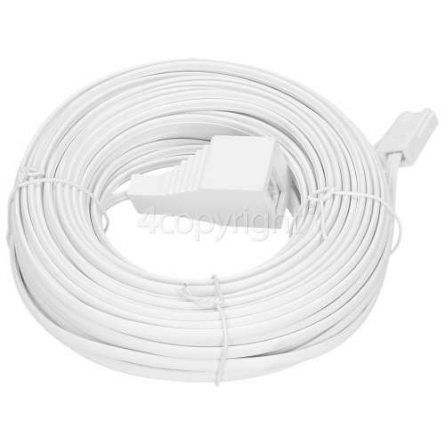 Wellco 20M Telephone Extension Lead