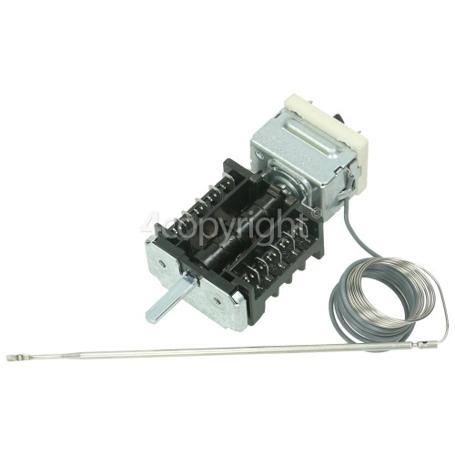 Rangemaster Thermostat / Function Selector Switch : EGO 55.17059.140