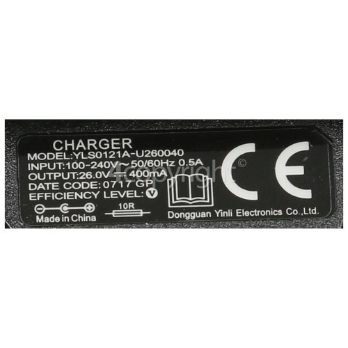 Hoover Battery Charger