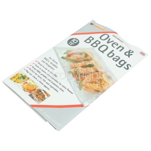 Oven & BBQ Bags (Pack Of 10) (cookshop)