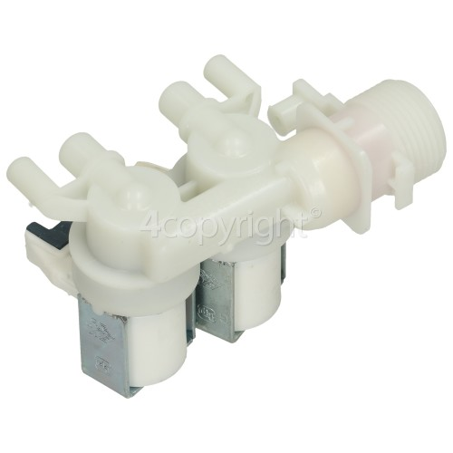 Hotpoint Double Solenoid Inlet Valve Unit With Protected (push) Connectors
