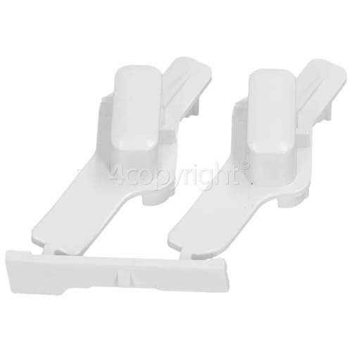 Whirlpool Start Button Assembly - White