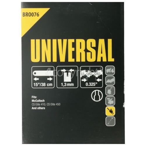 "Flymo BRO076 38.1 (15"") 64 Drive Link Chainsaw Bar"