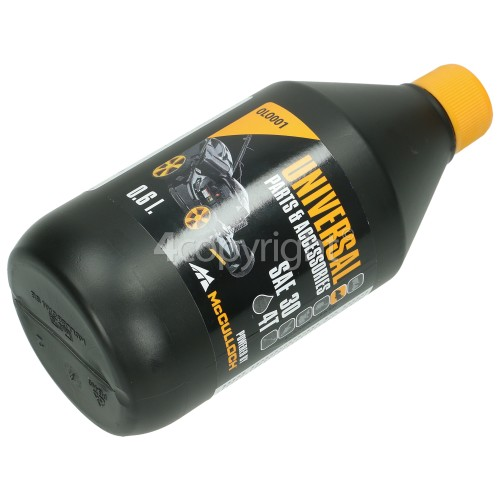 Universal Powered By McCulloch OLO001 4 Stroke Oil - SAE30 (Petrol Lawnmowers & Tractors)