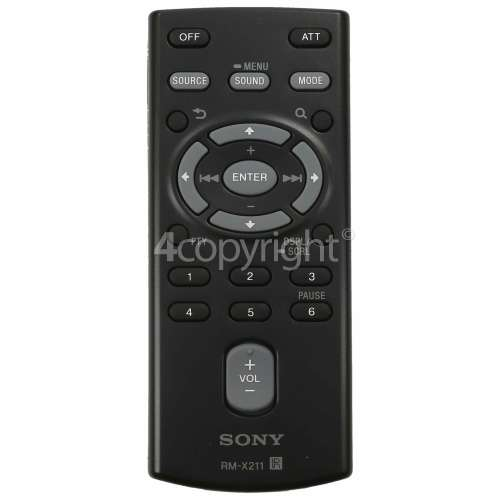 Sony RM-X211 In-Car Audio Remote Control
