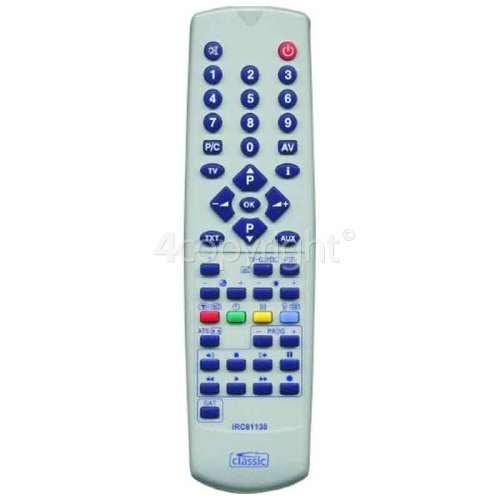 Sharp IRC81138 Compatible TV Remote Control : =COM3232, =BQS164