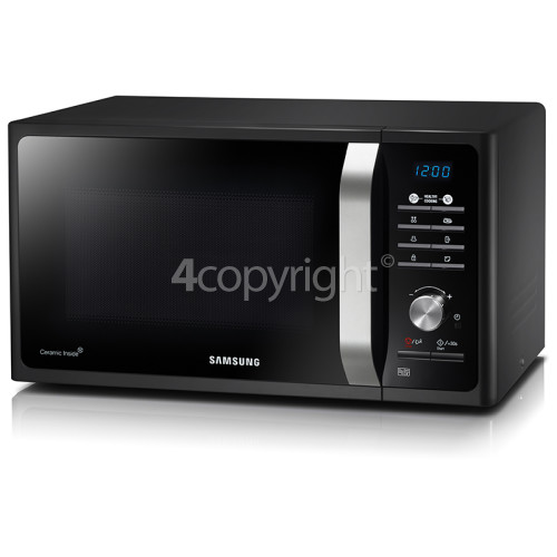 Samsung Solo Microwave - Black