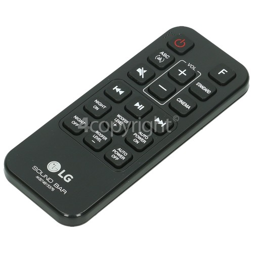 LG AKB74815376 Sound Bar Remote Control