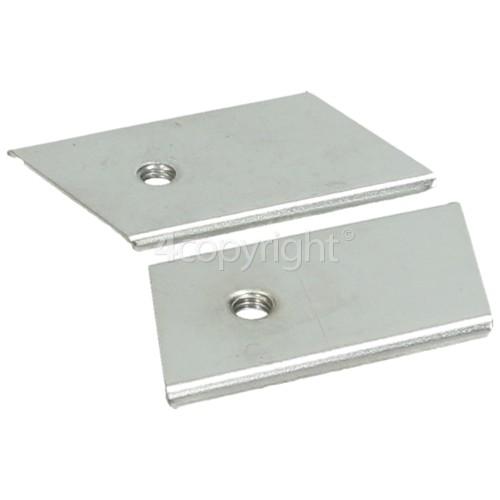 Flymo Fixing Plates Kit