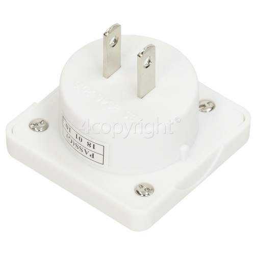 10A USA Travel Adapter For UK Visitors To The USA (13amp Plug Adaptor)