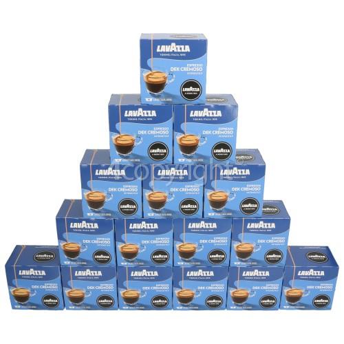 Lavazza Dek Cremoso Capsules (Box Of 256 Capsules)