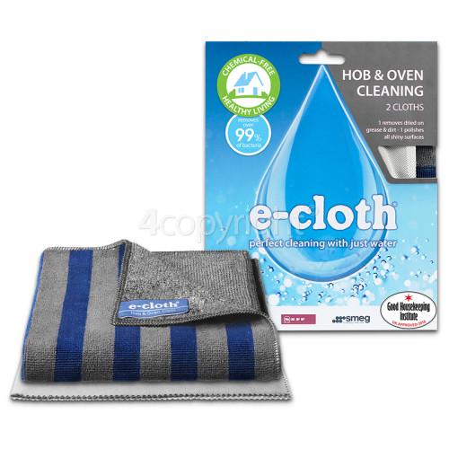 E-Cloth Hob & Oven Microfibre Cloth Pack
