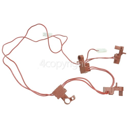 Beko AOCG64130DS Gas Ignition 4 Micro Switch Chain