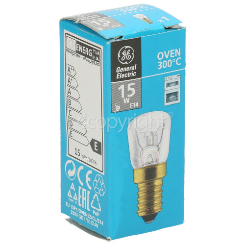 Electrolux Group 15W SES (E14) Pygmy Oven Lamp