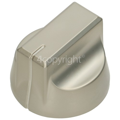 Stoves Hob Control Knob - Nickel