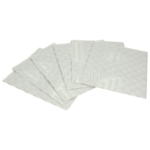 Neff Standard Size Paper Grease Filter - Pack Of 6