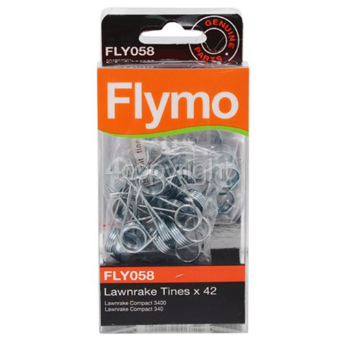 Flymo FLY058 Lawnrake Tines - Pack Of 42