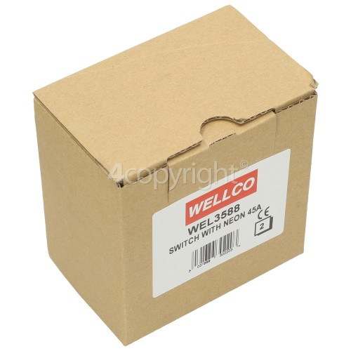 Wellco 1A Fused Shaver Adaptor To 13amp Plug (Box Of 10)