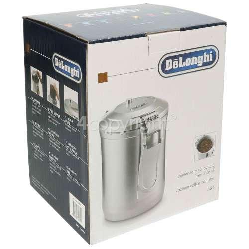 Delonghi DECC500 Vacuum Sealed Coffee Storage Canister