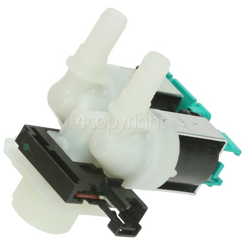 Bosch Cold Water Double Inlet Solenoid Valve : 180Deg. With 10.5 Bore Outlets
