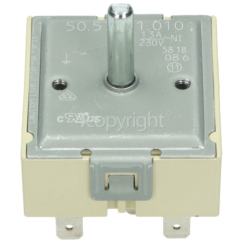 Grundig Dual Hotplate Energy Regulator : EGO 50.57021.010 OR INVENSYS MSA-V01-ARC