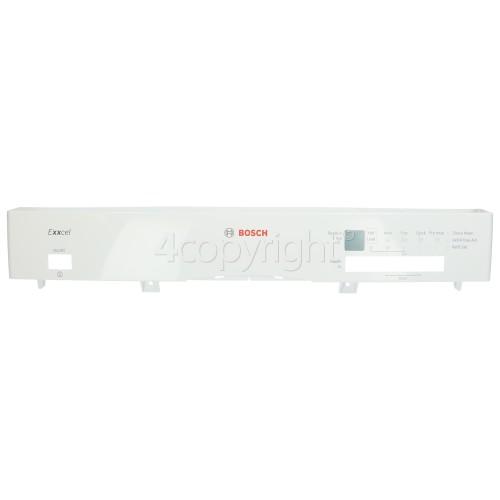 Bosch Control Panel Fascia - White